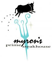 Myron's Prime Steakhouse's logo