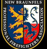 New Braunfels Professional Firefighters Association's logo