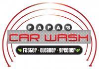 PAPA'S CAR WASH's logo