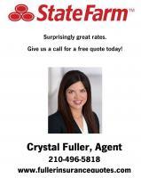 Crystal Fuller State Farm Insurance's logo