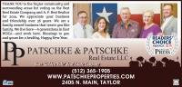 Patschke & Patschke Real Estate's logo